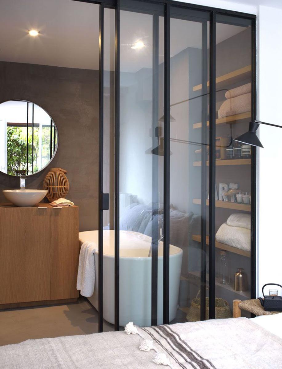 Viasolferino lavabo vasca vista camera