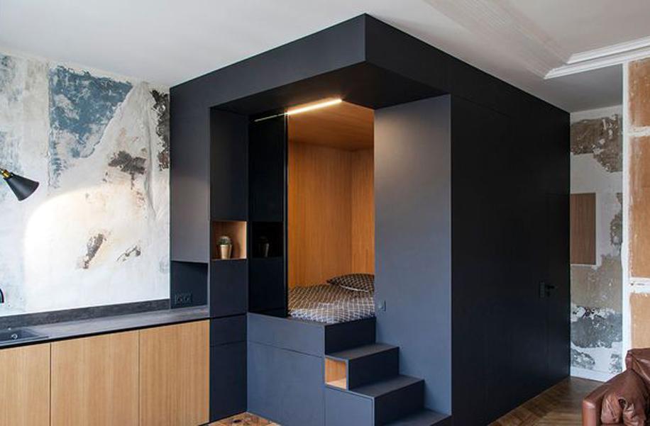 viasolferino interni casa moderna
