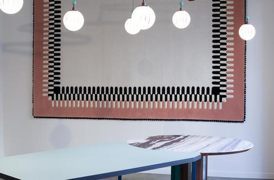 Disegnato da Andrea Marcante e Adelaide Testa,Tavolo componibile Duale per SEM, della collezione Futuraforma