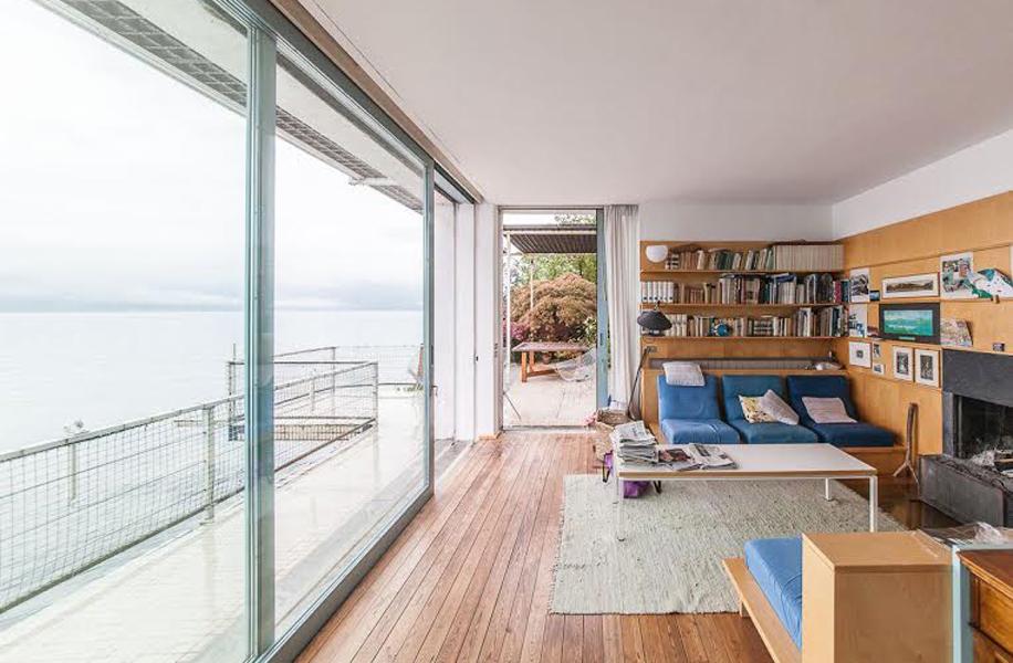 La complessità e la continuità degli spazi nella Casa a Varenna dell'architetto Giulio Minoletti