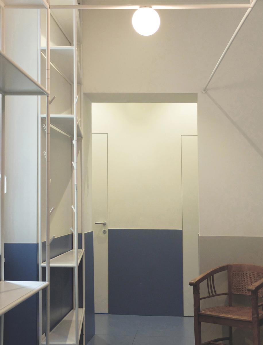 Lo spazio interno in un progetto di Nicola Auciello