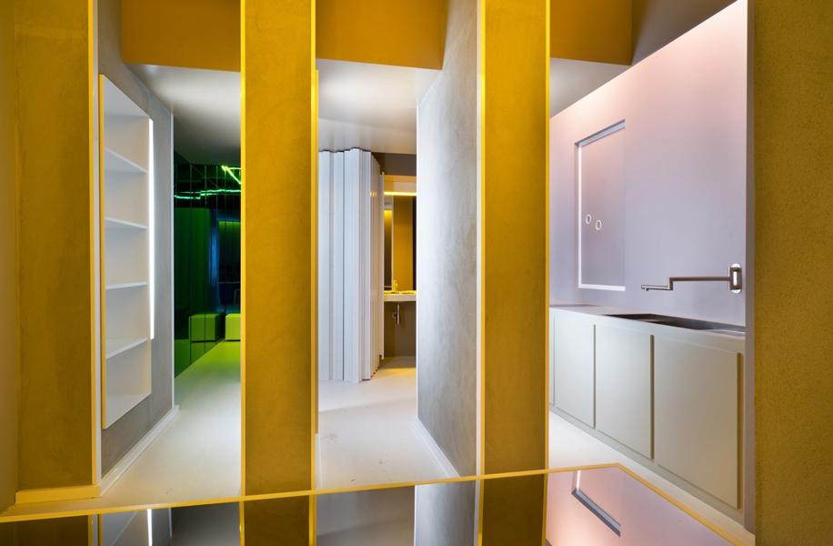 La continuità degli spazi nel progetto Mondo liquido dell'architetto Manolo De Giorgi