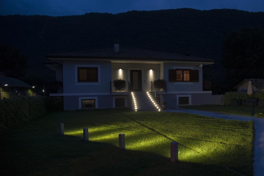 Progetto di ville unifamiliari: la luce