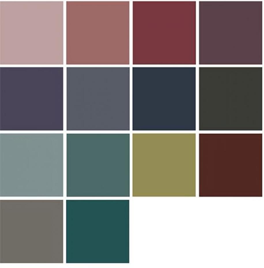 abbinamento colori casa
