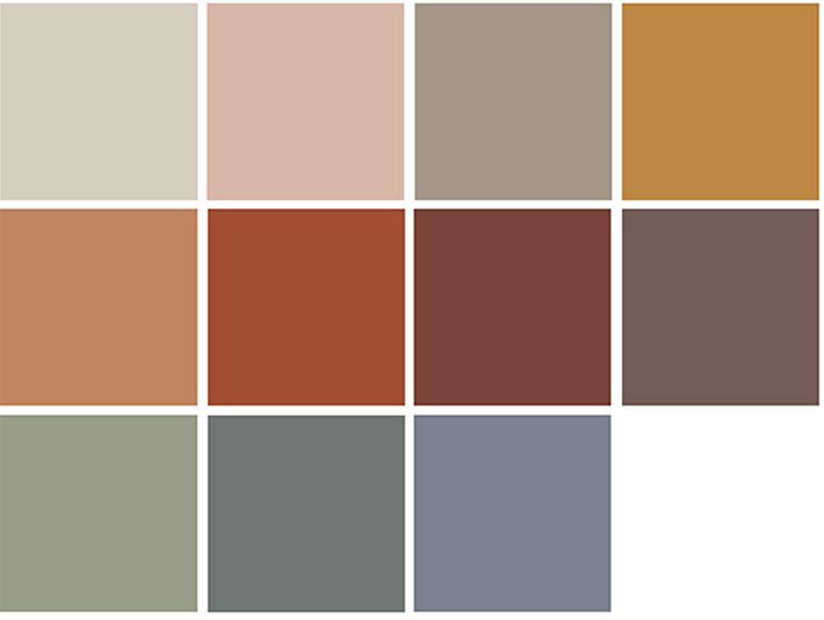 colori interni casa
