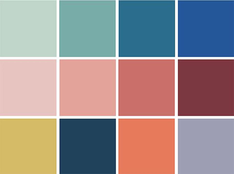 palette colori arredamento