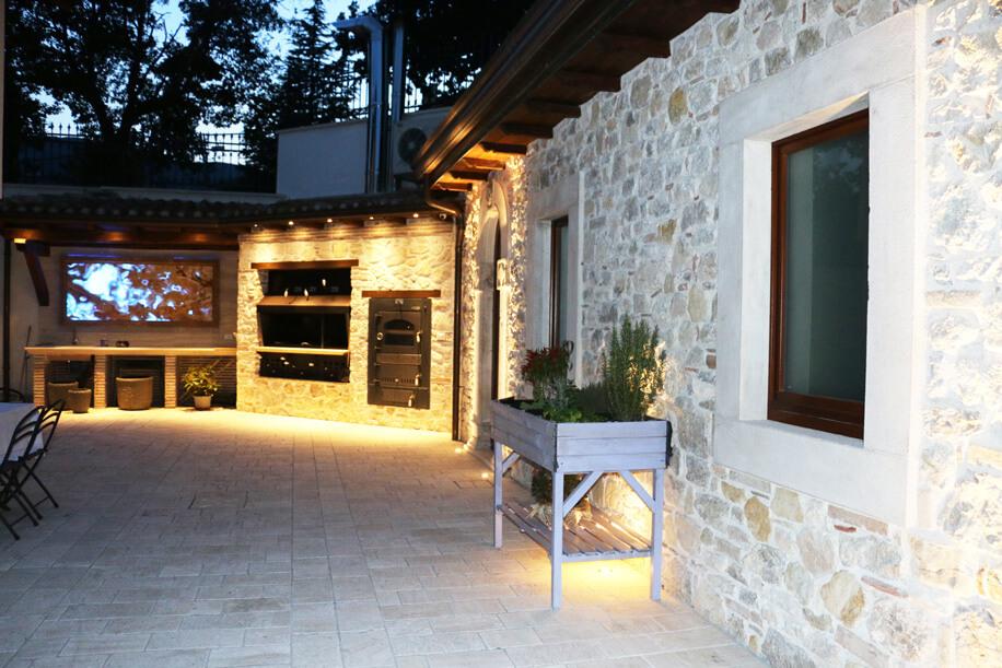 Viasolferino ristrutturazione casa ambiente esterno