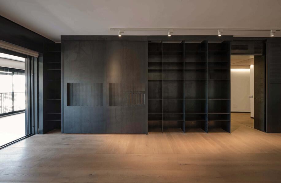 La metamorfosi di un interno in Casa al Portonaccio_Na3 Architetti, Nicola Auciello 2017.
