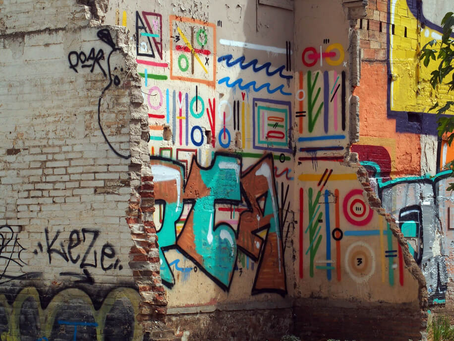 Viasolferino Poblenou quartiere industriale Barcellona