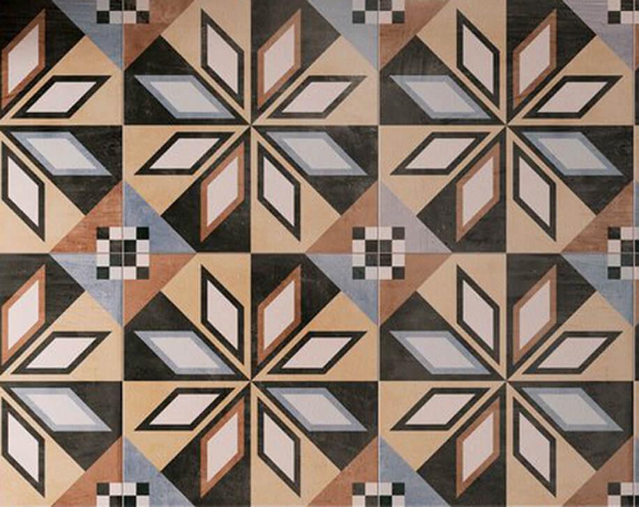 Viasolferino Arezzo Patchwork ceramiche Sant'Agostino