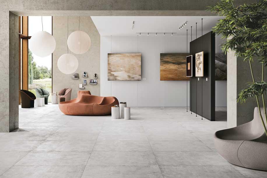Ceramiche Refin collezione Urbex Style, collezione in grès porcellanato effetto cemento